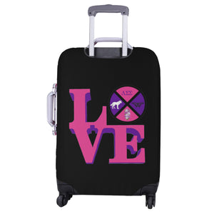 lambda sigma sigma Luggage Cover/Large 31.5'' x 25''