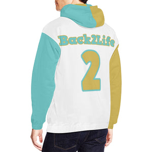 Back2Life All Over Print Hoodie for Men (USA Size) (Model H13)