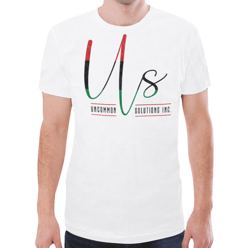 Uncommon Solutions New All Over Print T-shirt for Men (Model T45)