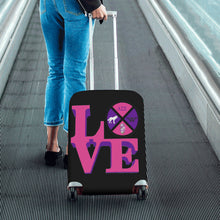 Load image into Gallery viewer, lambda sigma sigma Luggage Cover/Small 24'' x 20''