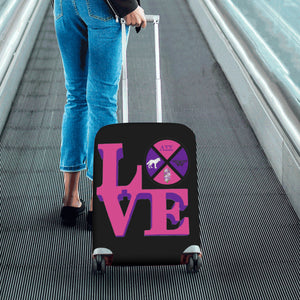 lambda sigma sigma Luggage Cover/Small 24'' x 20''