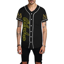 Load image into Gallery viewer, Alpha All Over Print Baseball Jersey for Men (Model T50)