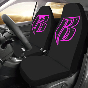 pink RR Car Seat Covers (Set of 2)