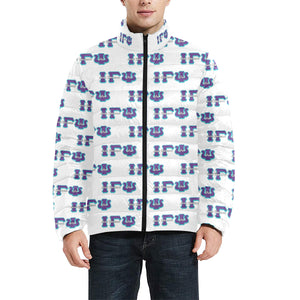 igp Men's Stand Collar Padded Jacket (Model H41)