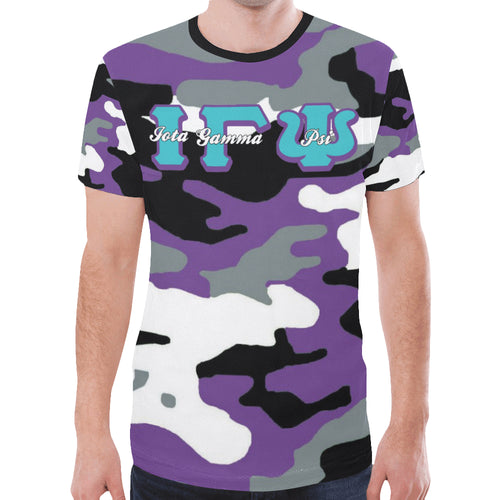igp New All Over Print T-shirt for Men (Model T45)