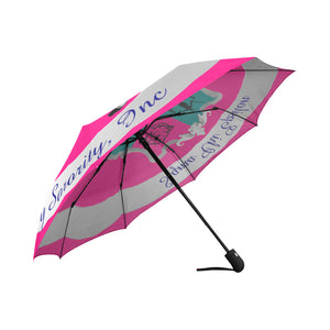 Sigma Chi Epsilon Auto-Foldable Umbrella