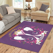 Load image into Gallery viewer, Alpha Gamma Phi Area Rug7'x5'