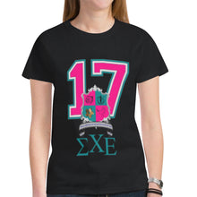 Load image into Gallery viewer, Sigma Chi Epsilon New All Over Print T-shirt for Women (Model T45)