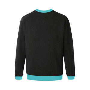 igp Men's Oversized Fleece Crew Sweatshirt (Model H18)