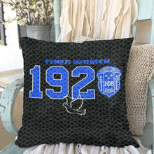 "Load image into Gallery viewer, Zeta Custom Sequin Pillow Case 18""x18"""