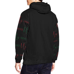 Uncommon Solutions All Over Print Hoodie for Men (USA Size) (Model H13)