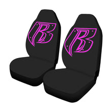 Load image into Gallery viewer, pink RR Car Seat Covers (Set of 2)