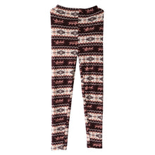 Load image into Gallery viewer, Women Leggings Snowflake Elk Printed Stretchy Leggings Pants for Autumn Winter Free Size