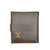 MEN'S VINTAGE WWII AIRMAN'S REAL COWHIDE  LEATHER WALLET RUSSET BROWN
