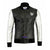 Justin Bieber Silver sleeves Taddy Real Leather Jacket for men Bomber Fashion