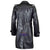 Men Real Hide Sheep Leather Embossed Jacket Coat