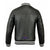 Men Real Soft Lamb Leather Varsity Baseball Bomber College Raglan sleeve Jacket