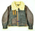MEN'S CLASSIC B-3 WWII REAL SHEEPSHEARLING BOMBER PILOT US AIR CORPS JACKET
