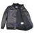 Flight A1 Military Aviation Captain Bomber Air Force Real Leather Jacket Black