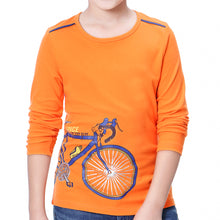Load image into Gallery viewer, Boys Long Sleeve T-Shirts Uniform Crew Neck Tee Shirts Cotton Kids Tops Clothes Girls