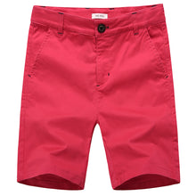 Load image into Gallery viewer, KID1234 Boys Shorts - Flat Front Shorts with Adjustable Waist,Chino Shorts for Boys 5-14 Years,6 Colors to Choose