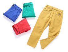 Load image into Gallery viewer, KID1234 Boys Pants - Boys Chino Pants,Adjustable Waist Pants Boys 4-12 Years,6 Colors to Choose,Best Family Dinner