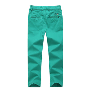 KID1234 Boys Pants - Boys Chino Pants,Adjustable Waist Pants Boys 4-12 Years,6 Colors to Choose,Best Family Dinner