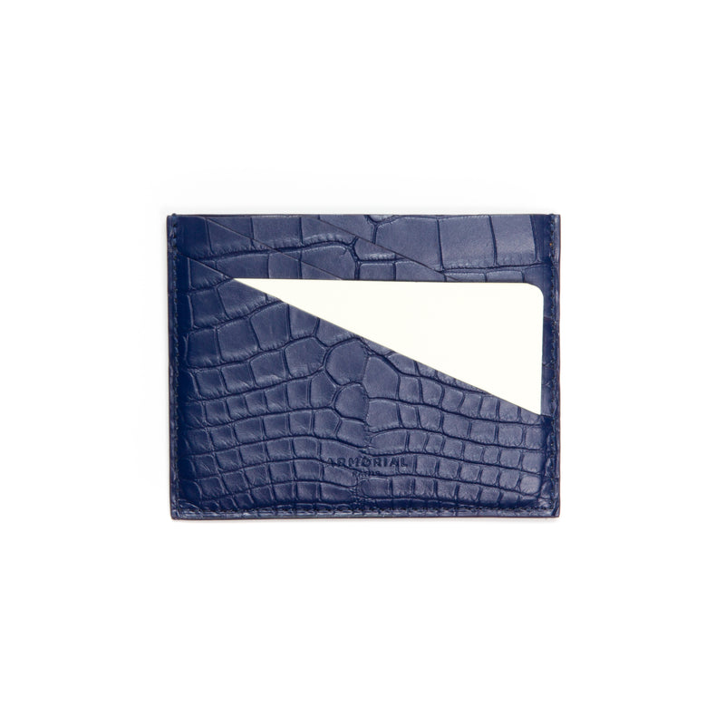 Card Holder Deep Blue