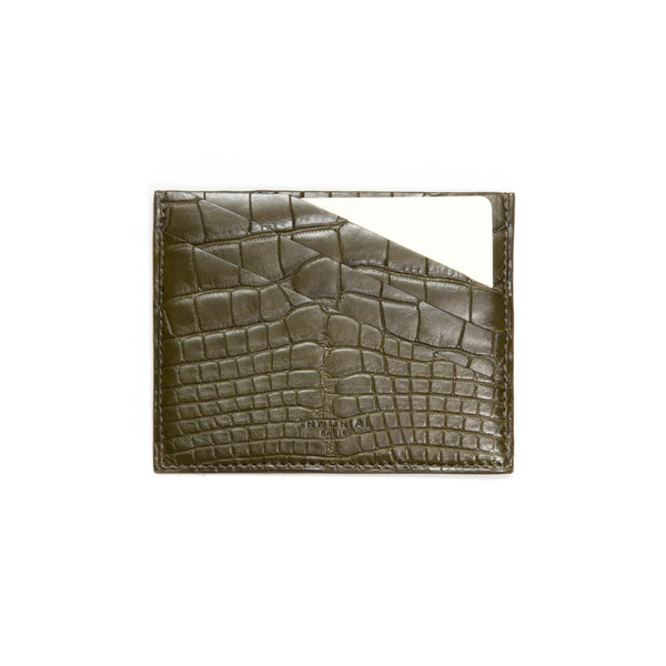 Card holder Dark Green