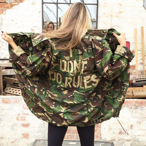 Bespoke Green Camo Jacket