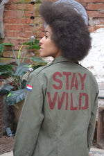 Bird + Wolf Stay Wild Dutch Army Jacket