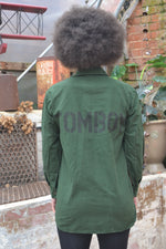 Tomboy Bird + Wolf Swedish Army Shirt - Customised