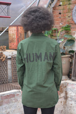 'Human' Swedish Army Shirt