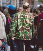Green Camo Jacket - Choose Your Wording
