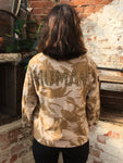 Human Bird + Wolf Desert Camo Jacket - Customised Camouflage Army Jacket