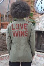 Bird + Wolf Love Wins Dutch Army Jacket