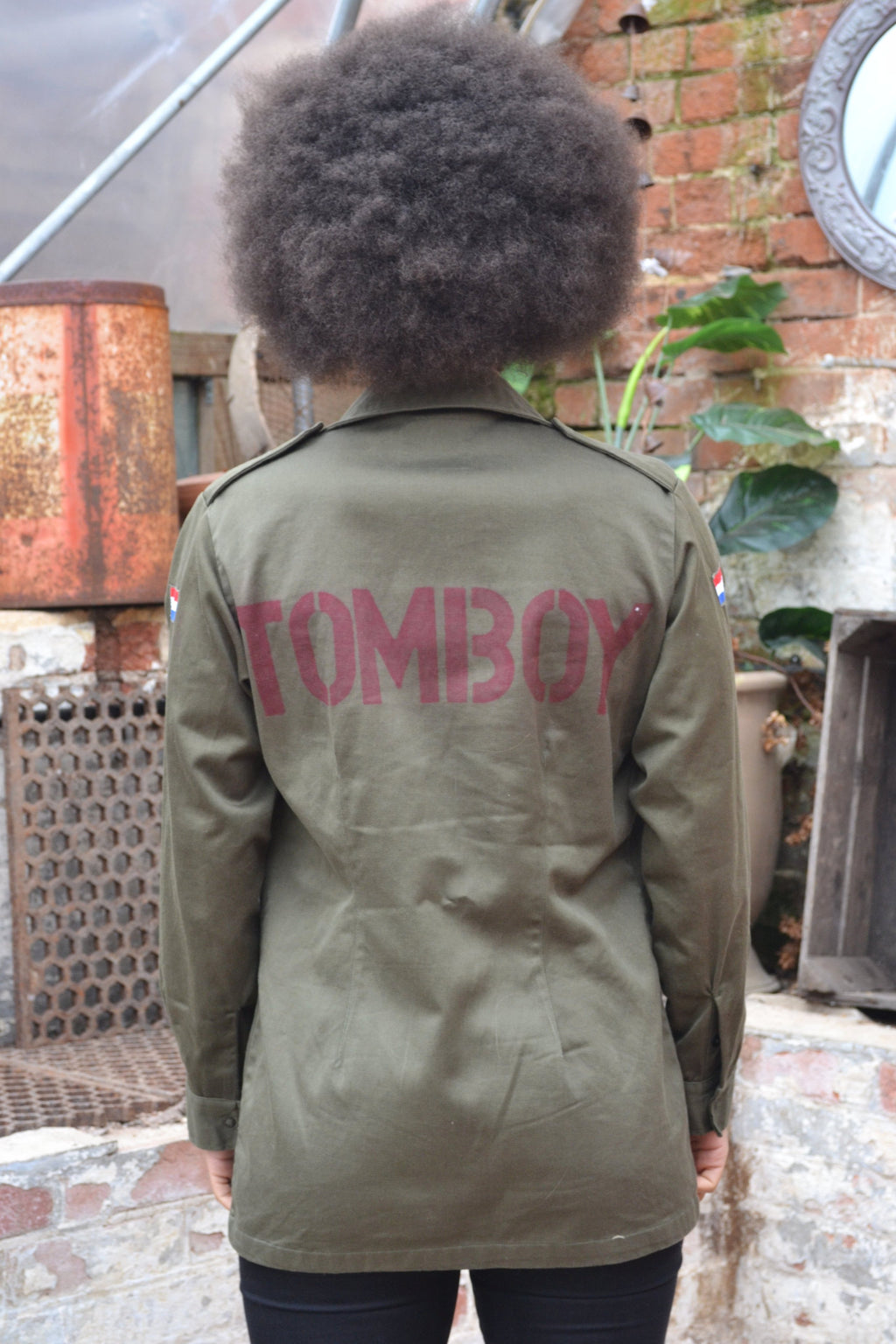 Bird + Wolf Tomboy Dutch Army Jacket