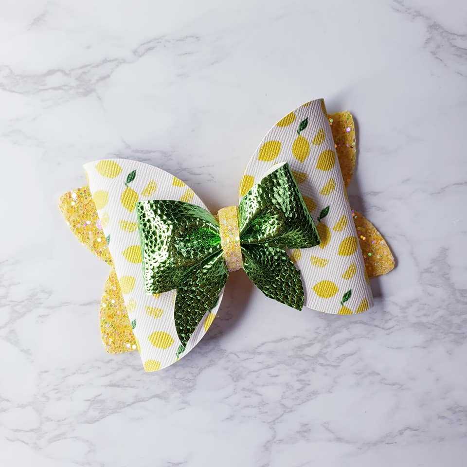 Lemon Life Bow