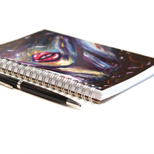 "Load image into Gallery viewer, ""Lips"" Art Notebook- 5'' x 7''"