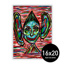 "Load image into Gallery viewer, ""Deaf"" Poster 16x20"