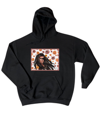 "Load image into Gallery viewer, ""Karma"" Pink Border Hoodie Unisex"