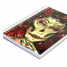 "Load image into Gallery viewer, ""Mikeswirl"" Art Notebook- 5'' x 7''"