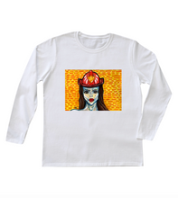 "Load image into Gallery viewer, ""Blaze"" Women's Long Sleeve"