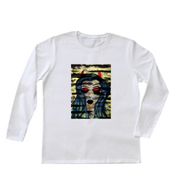 "Load image into Gallery viewer, ""Red Tapes"" Women's Long Sleeve"