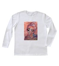 "Load image into Gallery viewer, ""I am Erica"" Women's Long Sleeve"