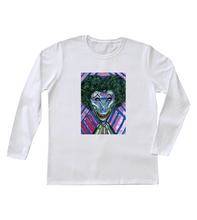 "Load image into Gallery viewer, ""Wire"" Women's Long Sleeve"