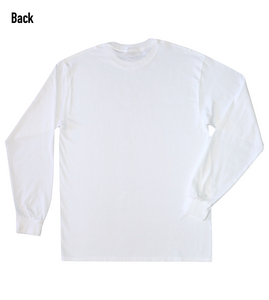 """Footsteps"" Men's Long Sleeve"