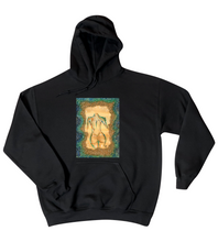 "Load image into Gallery viewer, ""Woman on the Moon"" Hoodie Unisex"