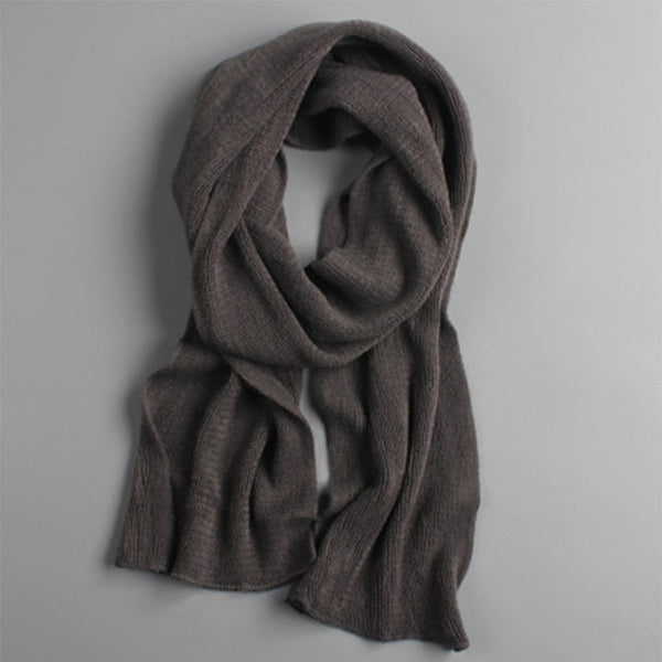 men scarf knit spring Unisex Thick Warm winter scarves long size male cashmere warmer women's scarves