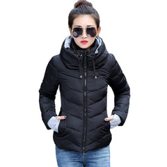coat winter jacket women outerwear short wadded jacket